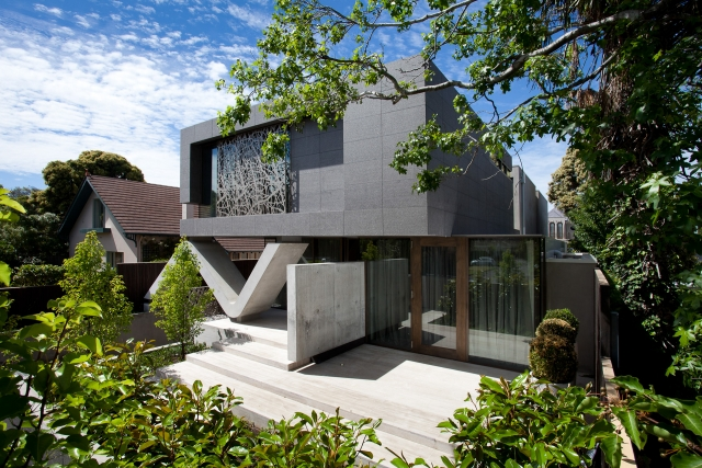 Contemporary Home, Modern style, concrete feature, Brighton, Melbourne, Minka Joinry