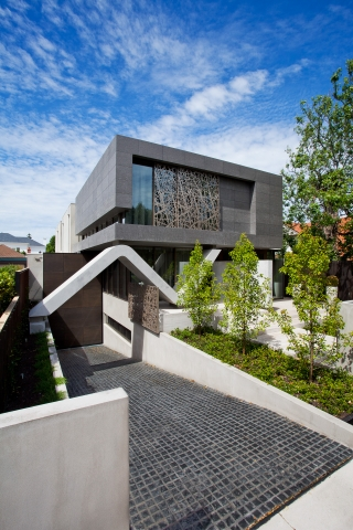 Contemporary Home, Modern style, architect designed, concrete feature, Brighton, Melbourne, Minka Joinry