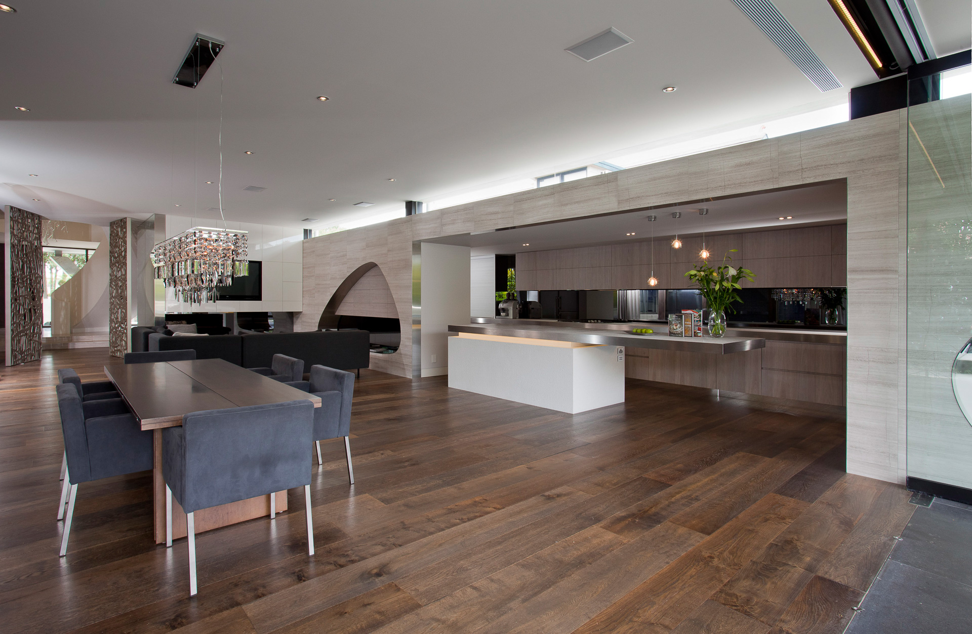 Contemporary kitchen, new age veneers, modern kitchen, stone italiana, concrete feature, Brighton, Melbourne, Minka Joinry