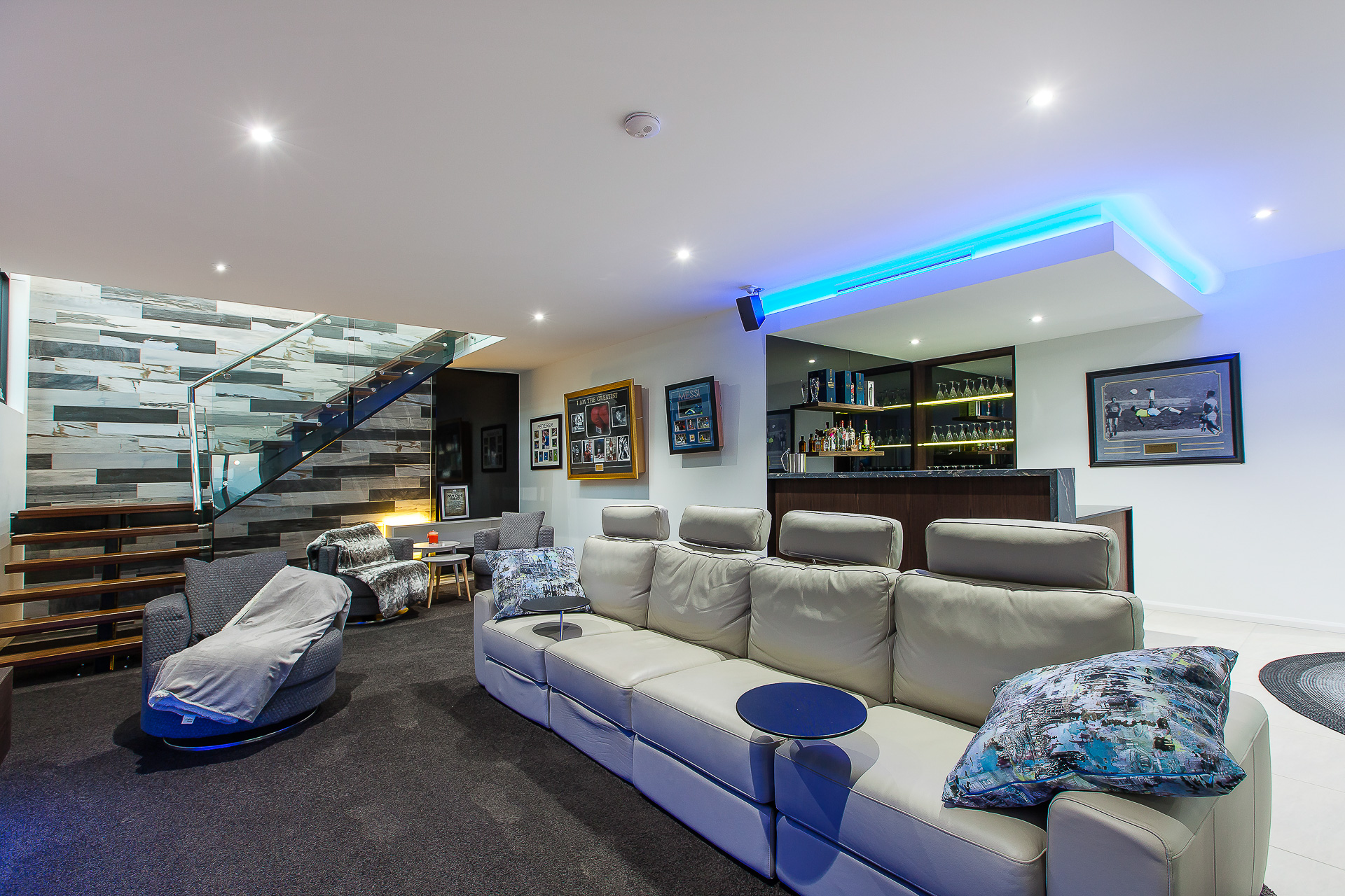 luxury home bar, modern sports room, man cave, men's room, pool room, custom made bar, minka joinery