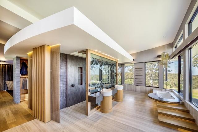 beautiful bathroom, modern contemporary, shower, ensuite, vanity, luxury, architect, designer, bath, basin, corian, Minka Joinery