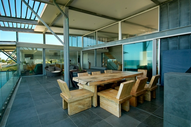 Kitchen, miele, interior, outdoor dining, Architectural, industrial, interiors, acrylic, minka joinery