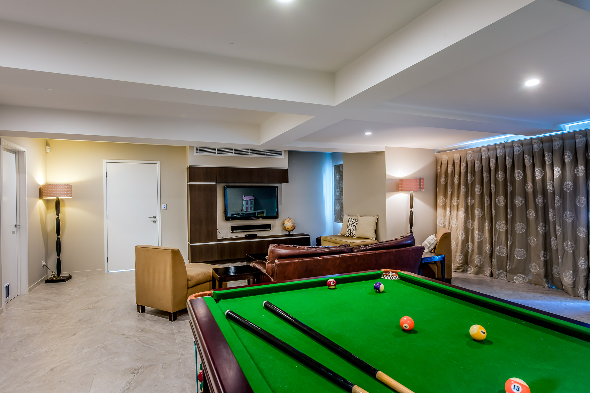 Rumpus room, kids room, games room, pool room, den, man cave, minka joinery