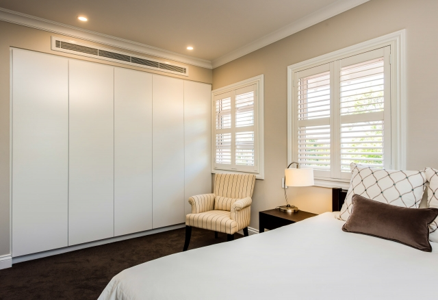 Luxury walk in robe, robe, bedroom, luxury interiors, minka joinery, Cowan Constructions, brisbane, queensland