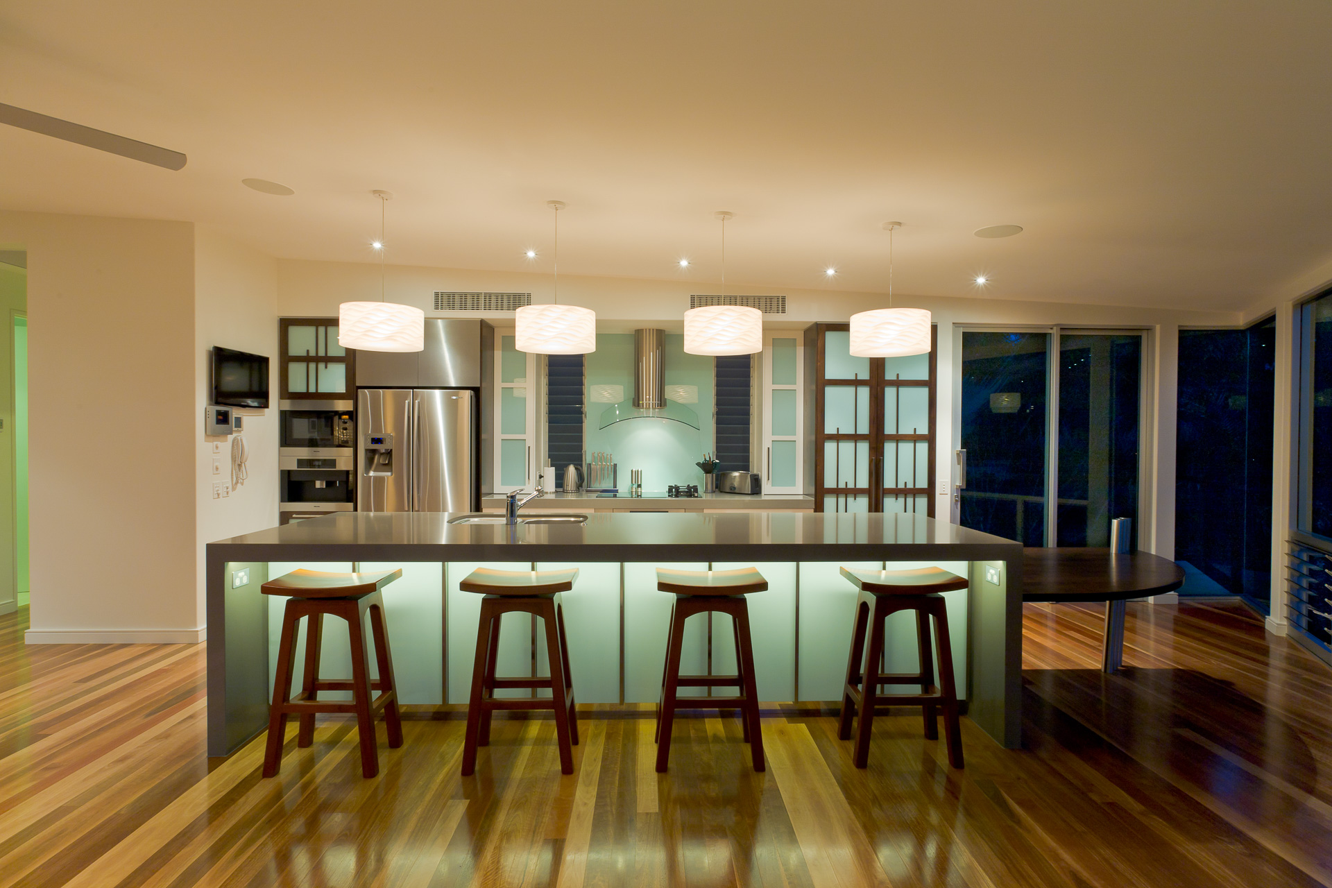 kitchen, timber, japanese kitchen, Resort Style Modern House, luxury interior, caesarstone, minka joinery