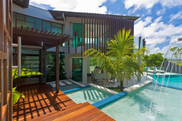 Resort Style swimming pool, sunshine coast, beach house, pool, sunshine coast, minka joinery